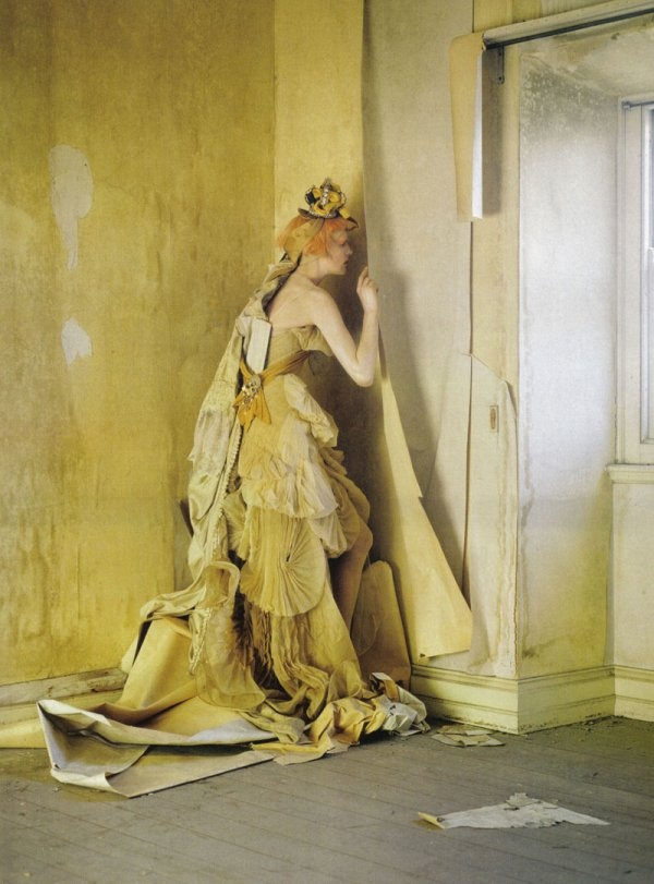 Woman In The Yellow Wallpaper