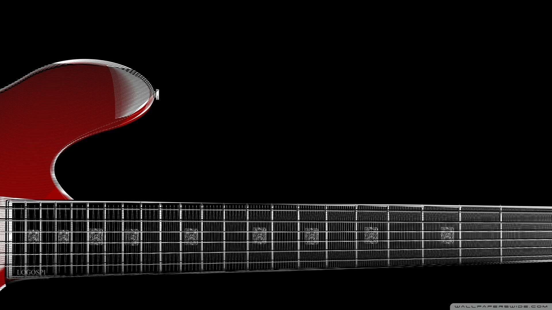 1080p Guitar Wallpaper