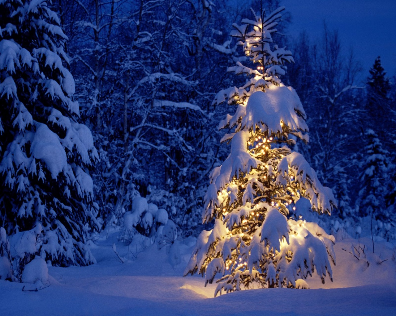 1280x1024 Christmas Wallpaper