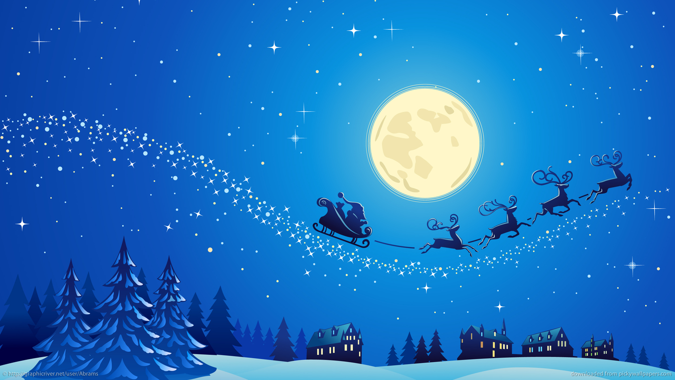 1366x768 Wallpaper Christmas