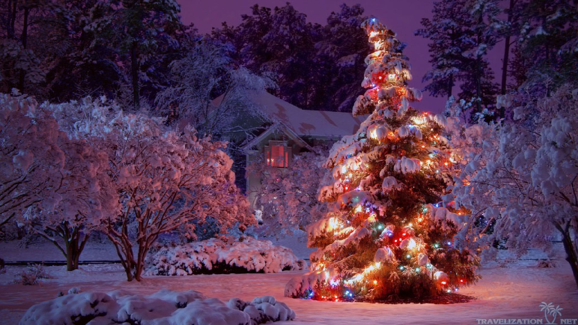 Download 1920x1080 HD Christmas Wallpaper Gallery