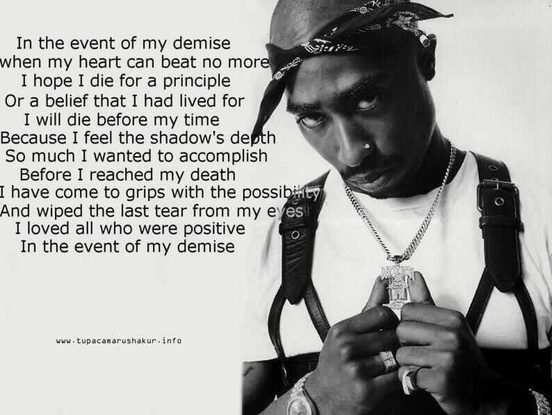 2pac Quotes Wallpaper