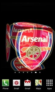 3D Arsenal Live Wallpaper