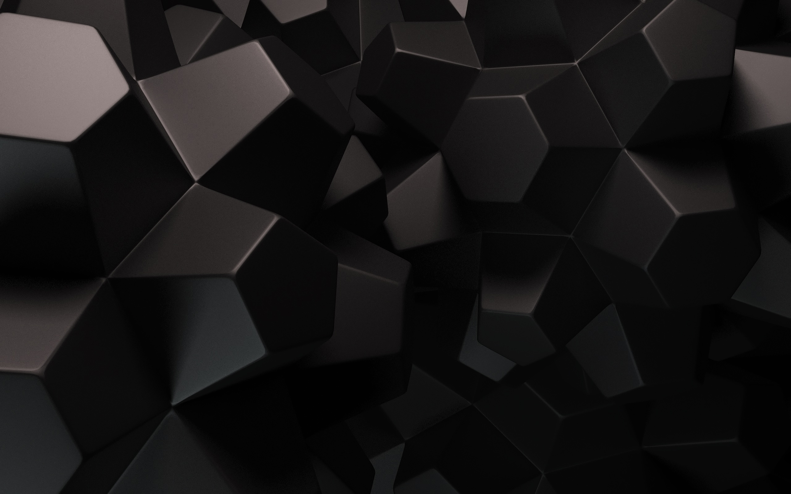3D Black Wallpaper HD