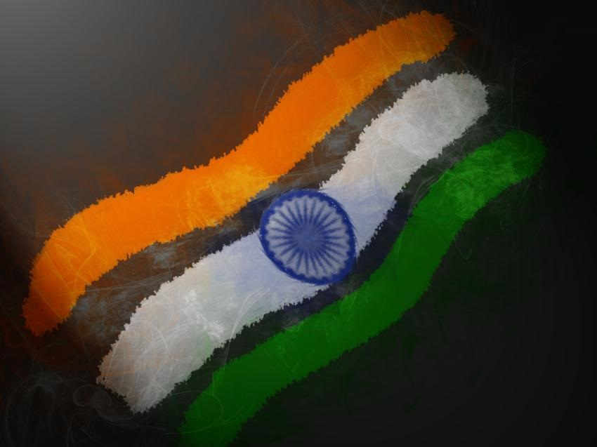 3D Indian Flag Wallpaper For Pc