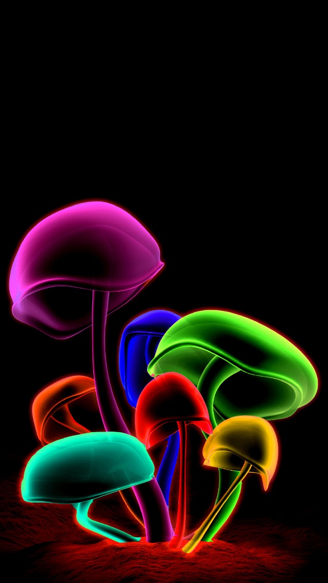 3D Iphone 5 Wallpaper