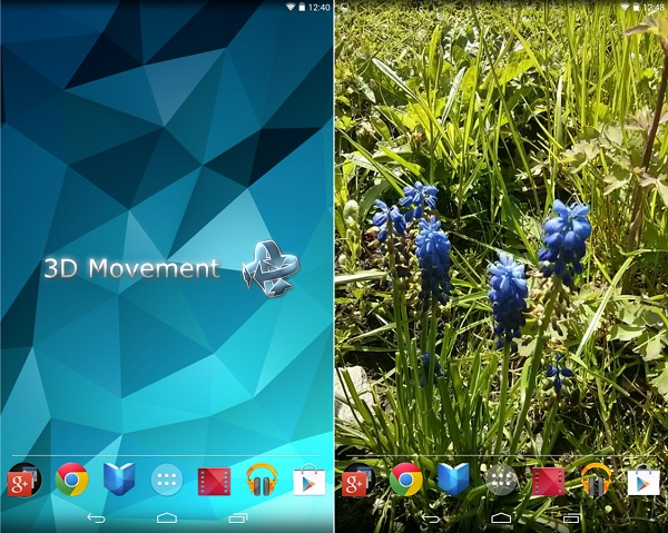 3D Live Wallpaper For Android Phone