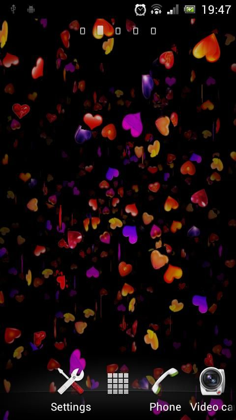 3D Love Heart Live Wallpapers