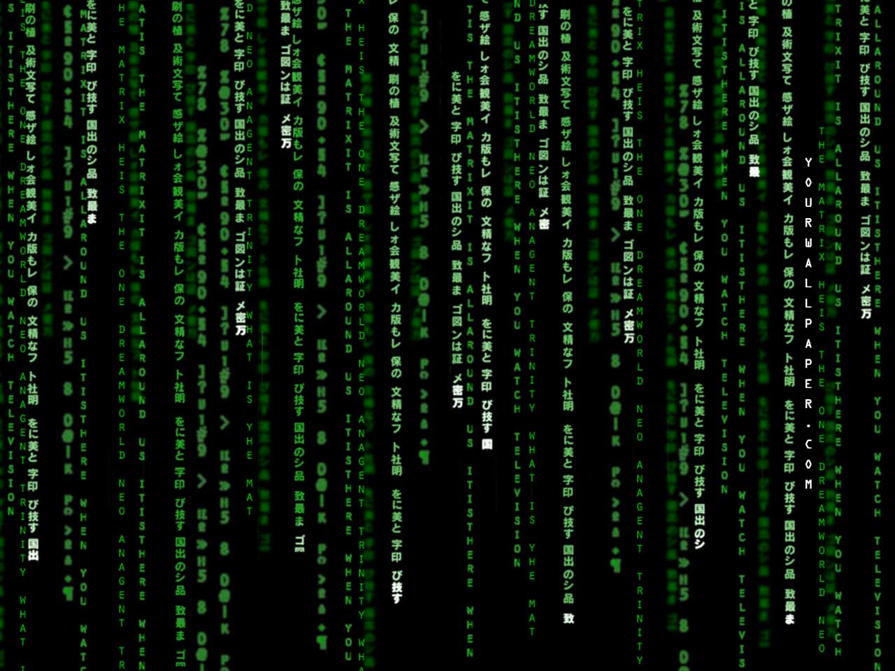 3D Matrix Live Wallpaper