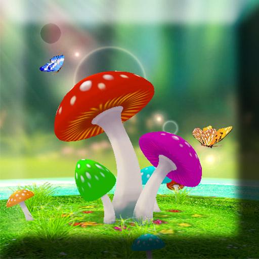 3D Mushroom Live Wallpaper For Pc