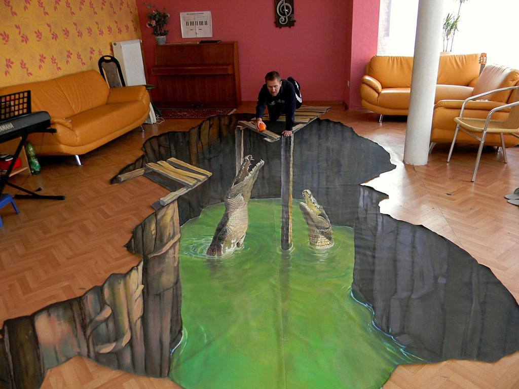 3D Painting Wallpaper