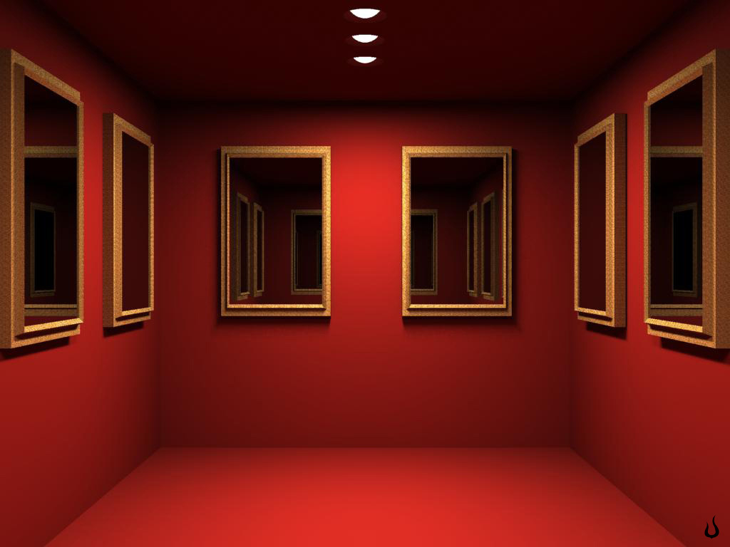 3D Room Wallpaper Background