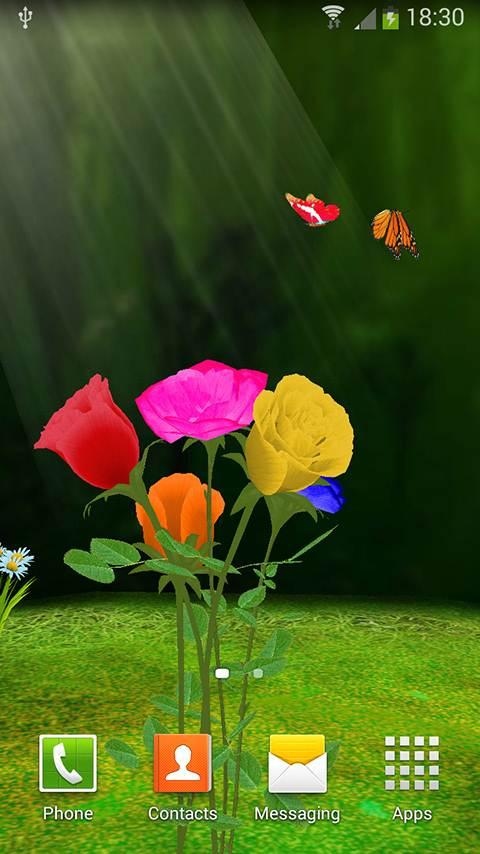3D Rose Live Wallpaper Apk 10