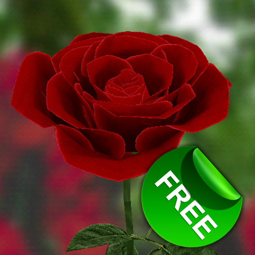 3D Rose Live Wallpaper Free Download