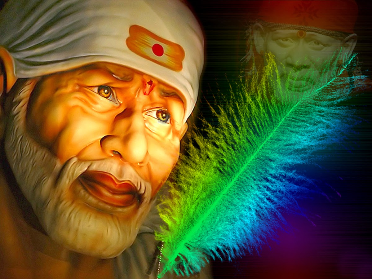 Download 3d sai baba wallpapers free download gallery - 3d wallpaper images free download ...