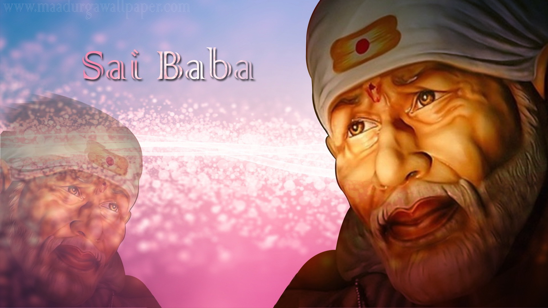 3D Sai Baba Wallpapers Free Download