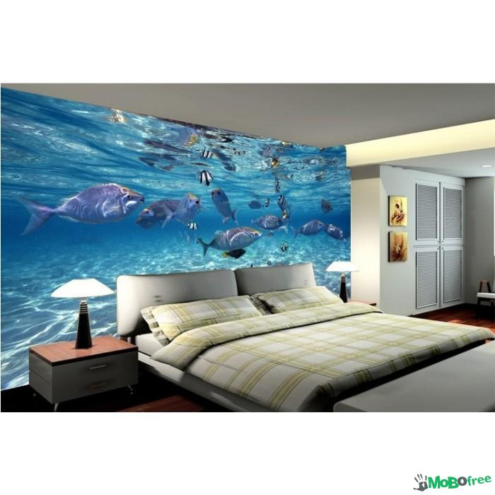 Download 3d wallpaper decor for home gallery for Wallpaper decoration for home