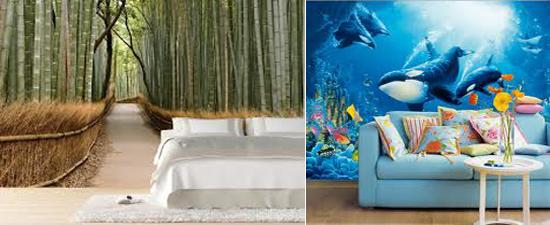 3D Wallpaper Decor For Home