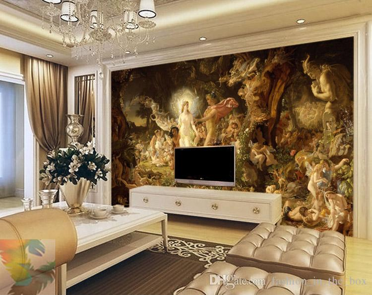 3D Wallpaper Living Room