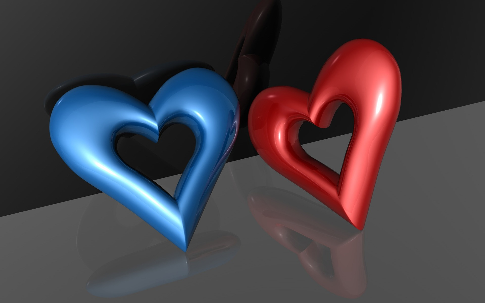 3D Wallpaper Of Heart
