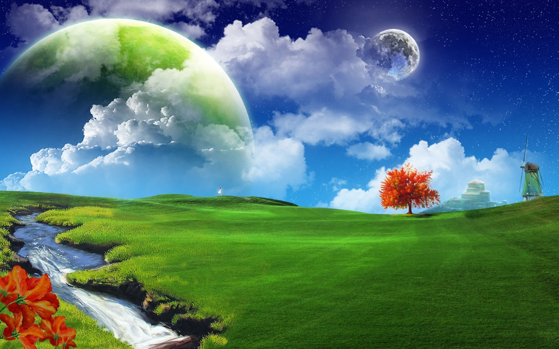 Download 3d wallpapers for desktop free download with - 3d animation pictures desktop ...
