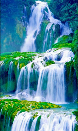 3D Waterfall Live Wallpaper Free Download For Pc