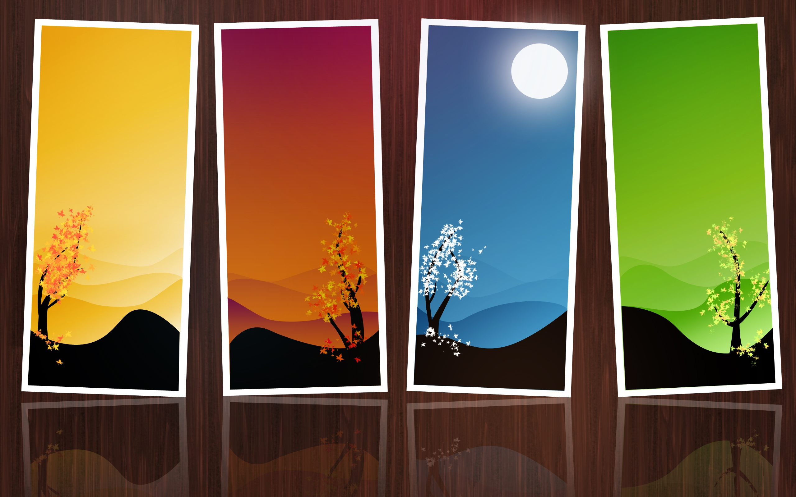 4 Seasons Wallpaper