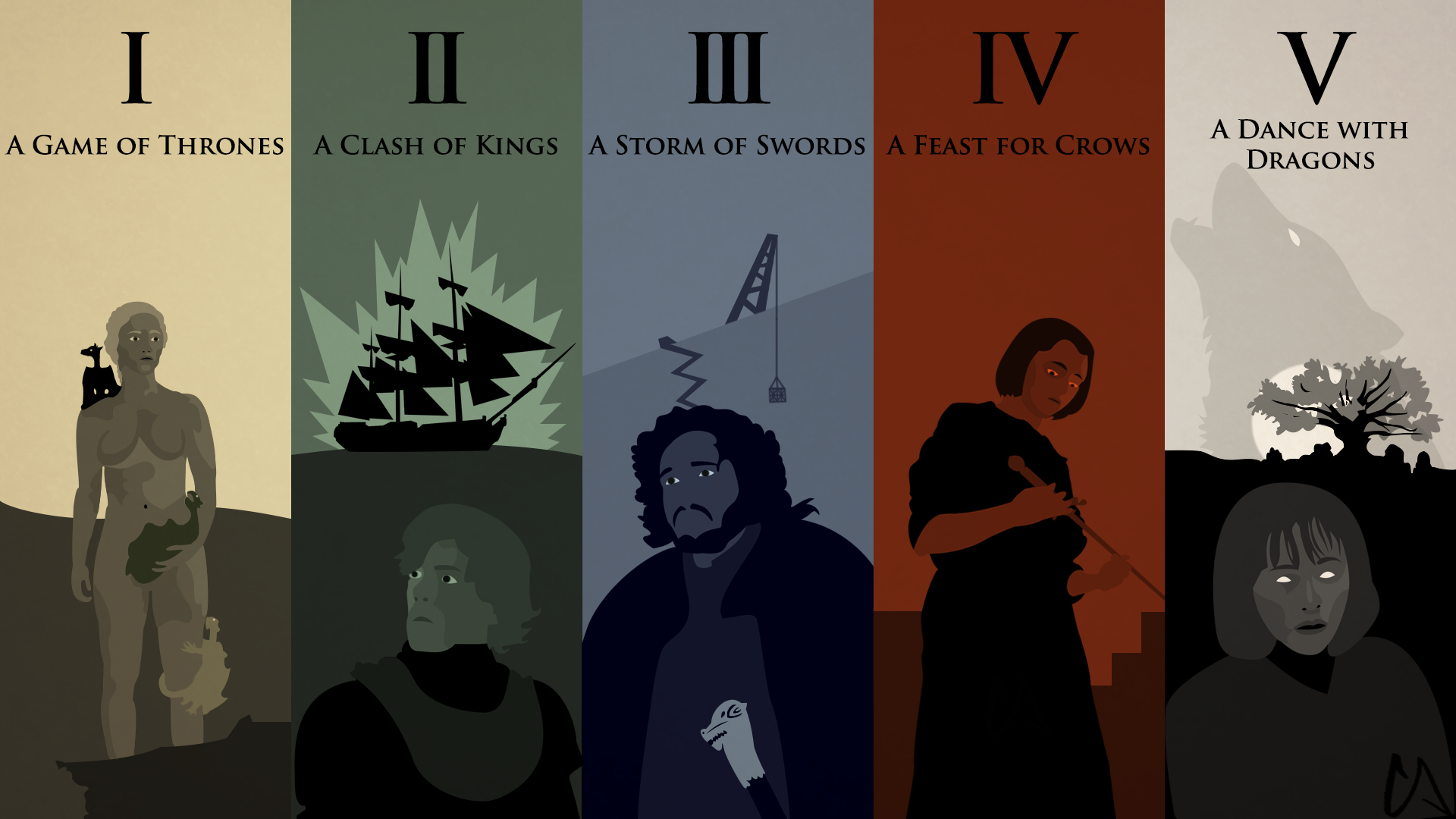 A Song Of Ice And Fire Wallpapers