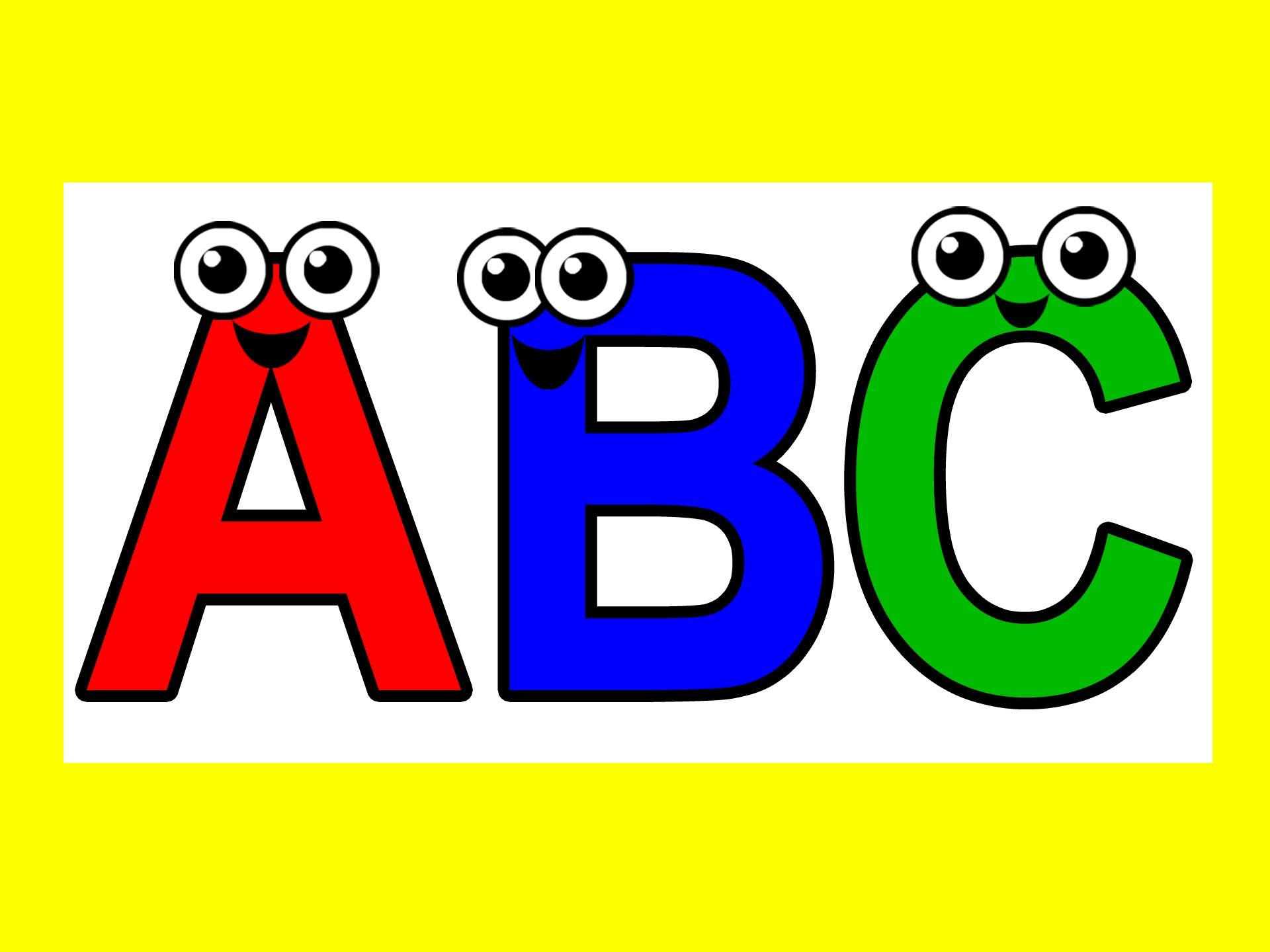 Abcd Words Wallpaper
