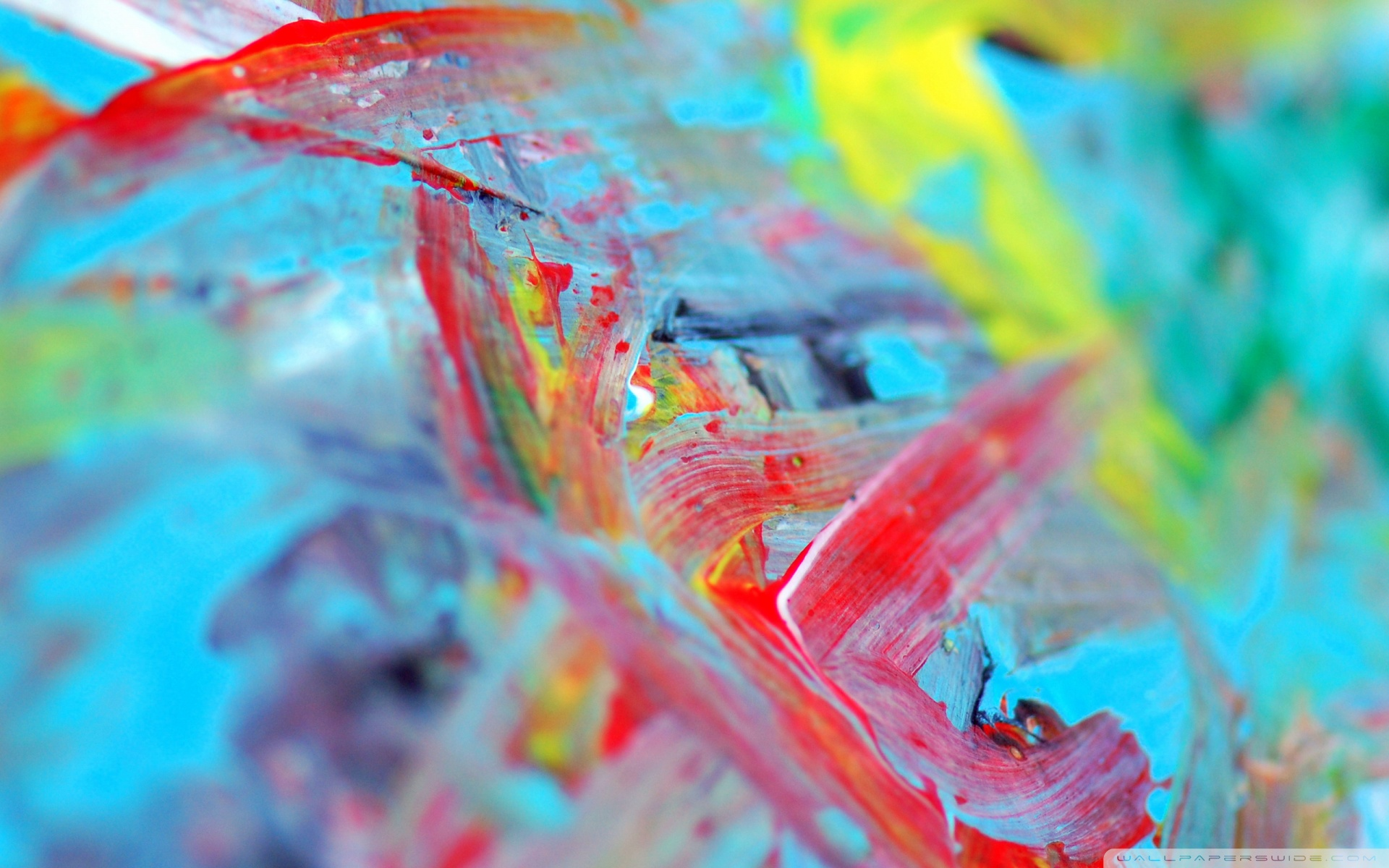 Abstract Painting Wallpaper Desktop