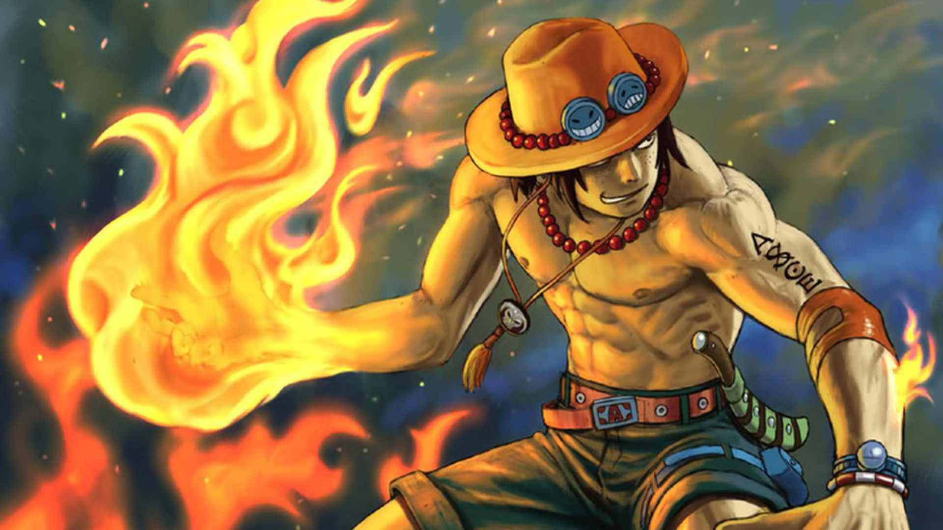 Ace One Piece Wallpaper