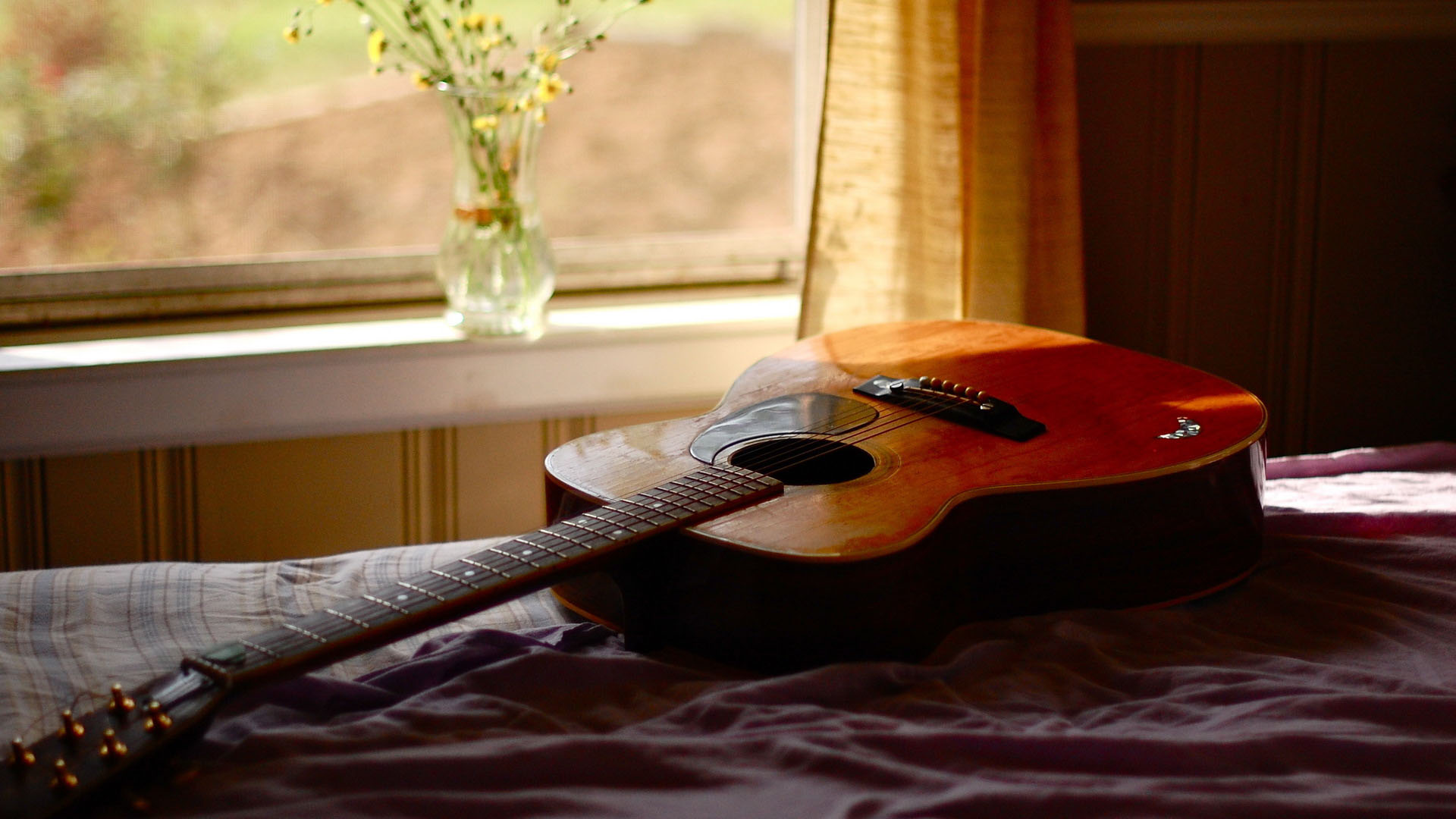 Acoustic Guitar Wallpaper For Mobile