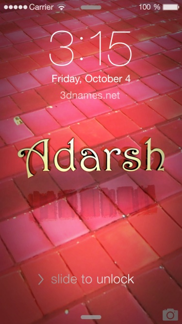 Adarsh Name Wallpapers