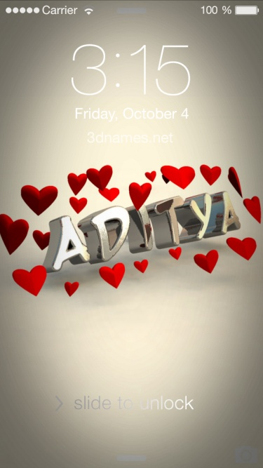 Aditya Wallpaper Name