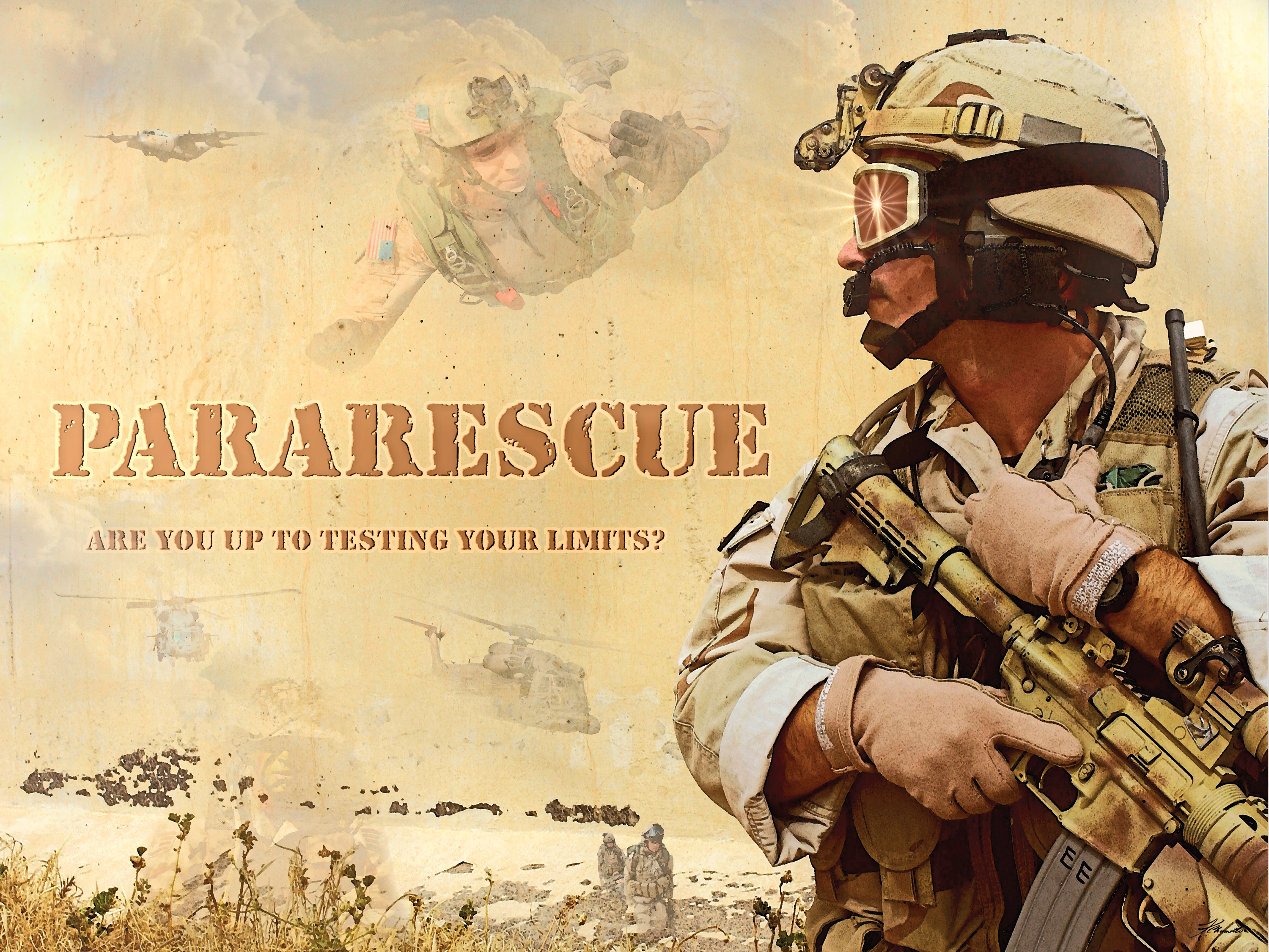 Air Force Pararescue Wallpaper and Background Image