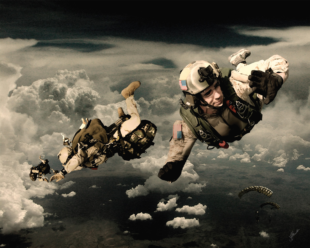 Air Force Pararescue Wallpaper