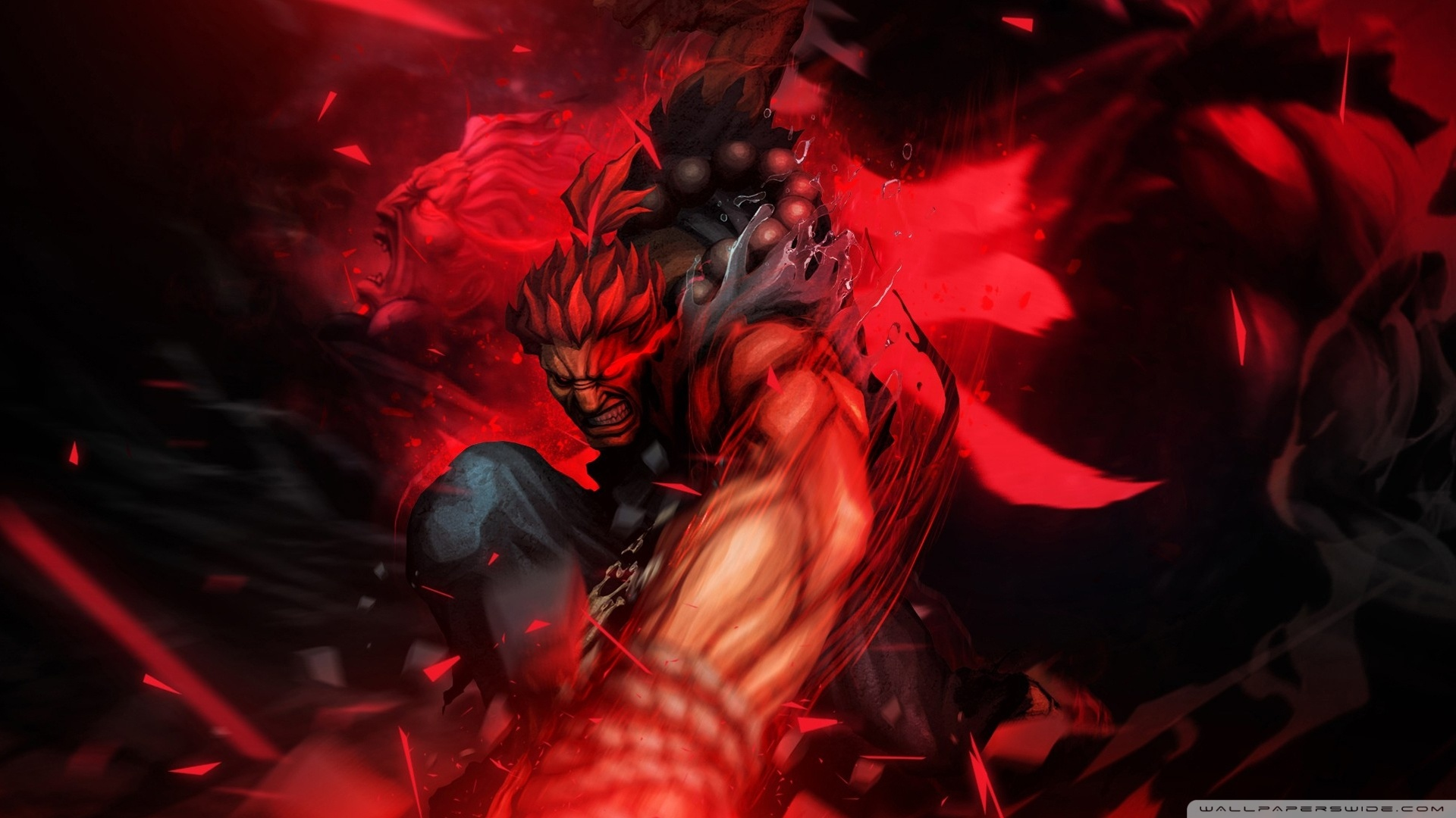 Akuma Street Fighter Wallpaper