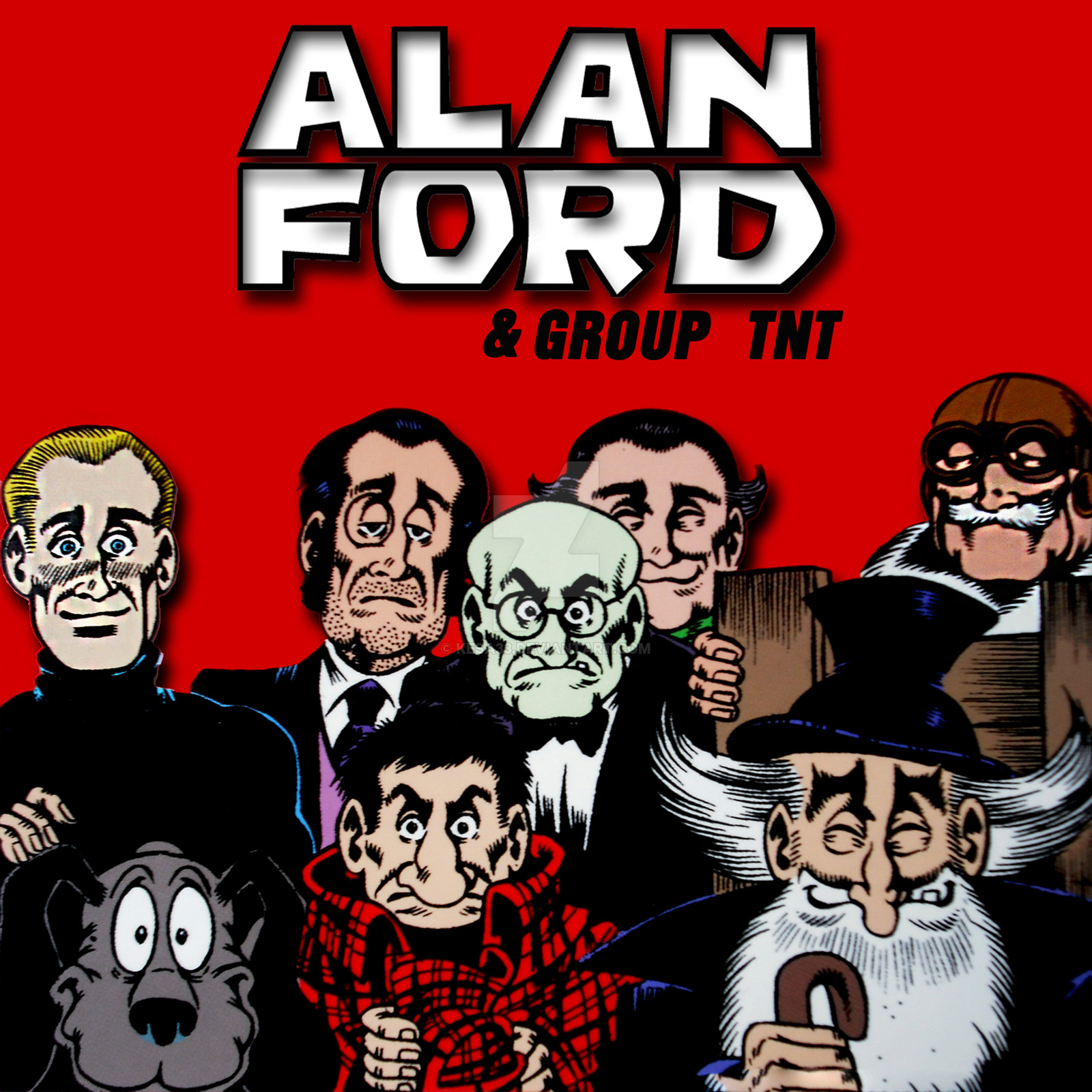 Alan Ford Wallpaper