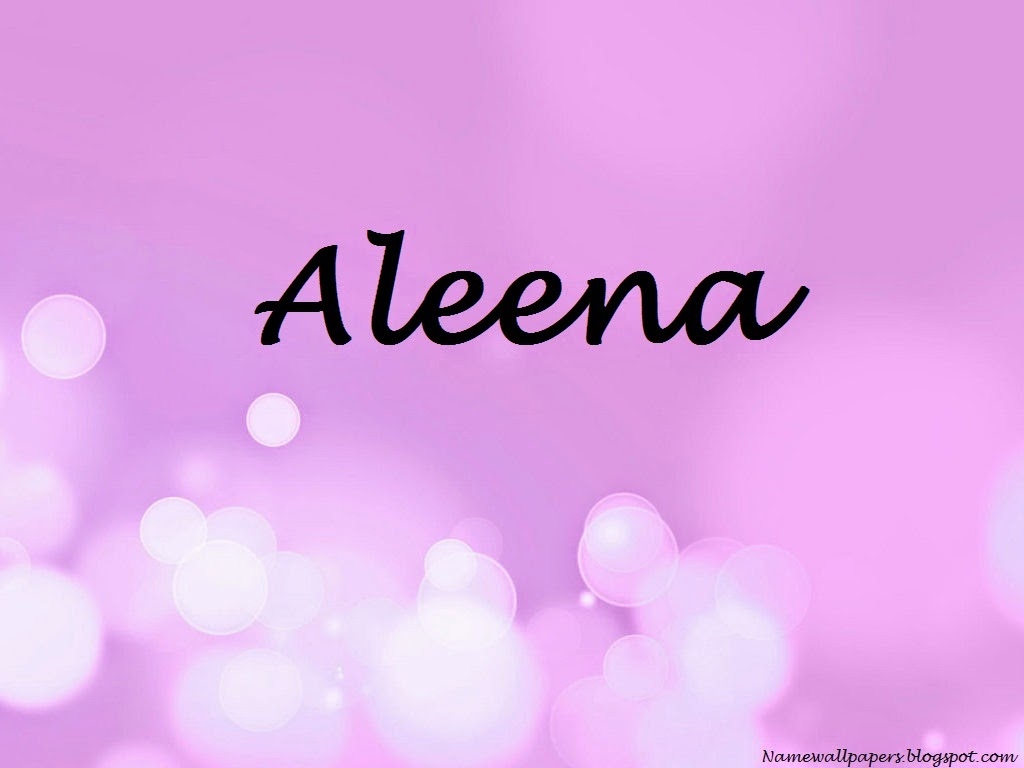Aleena Name Wallpaper