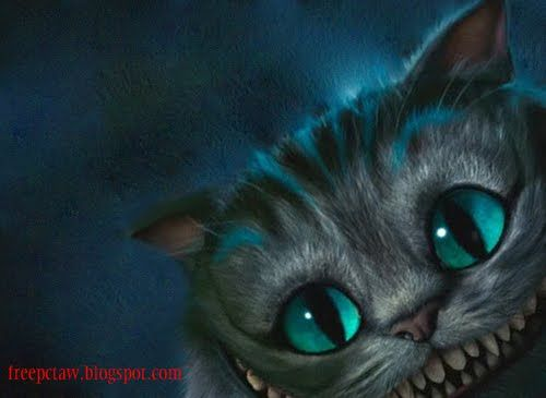 Alice In Wonderland Cheshire Cat Wallpaper
