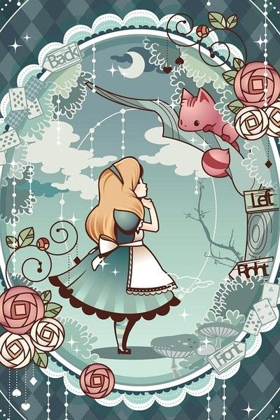 Alice In Wonderland Phone Wallpaper
