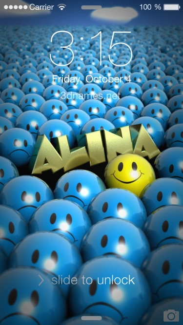 Alina Name Wallpaper