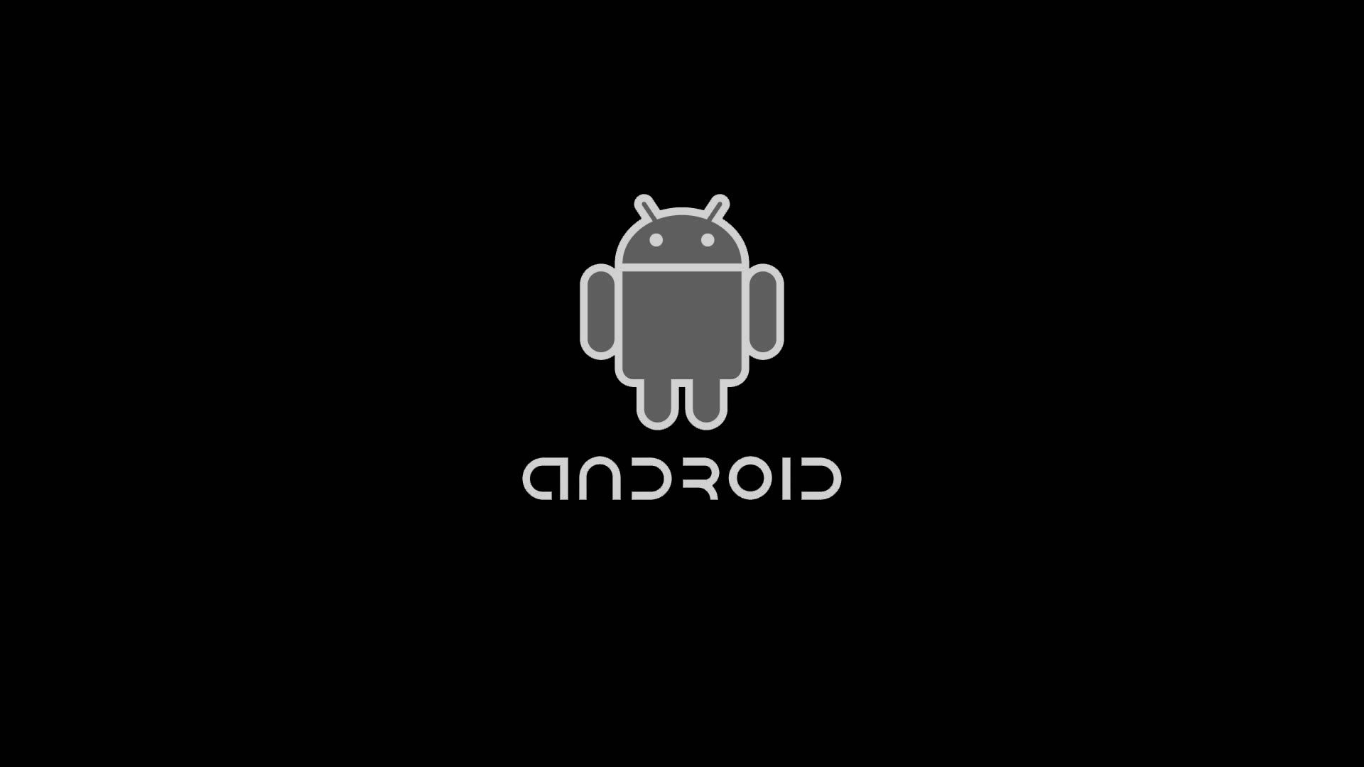All Black Android Wallpaper