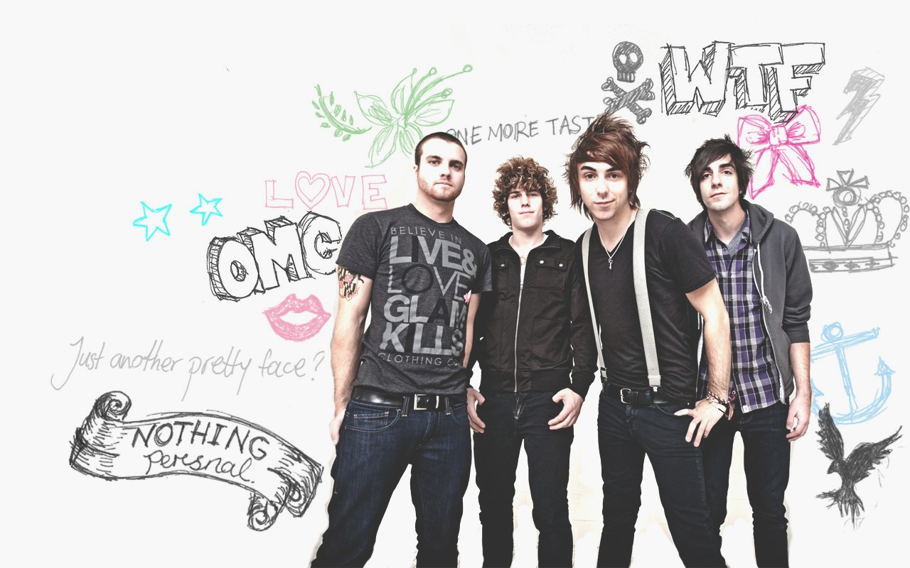 All Time Low Iphone Wallpaper