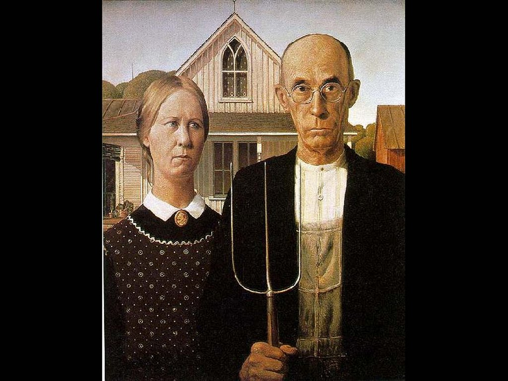 American Gothic Wallpaper