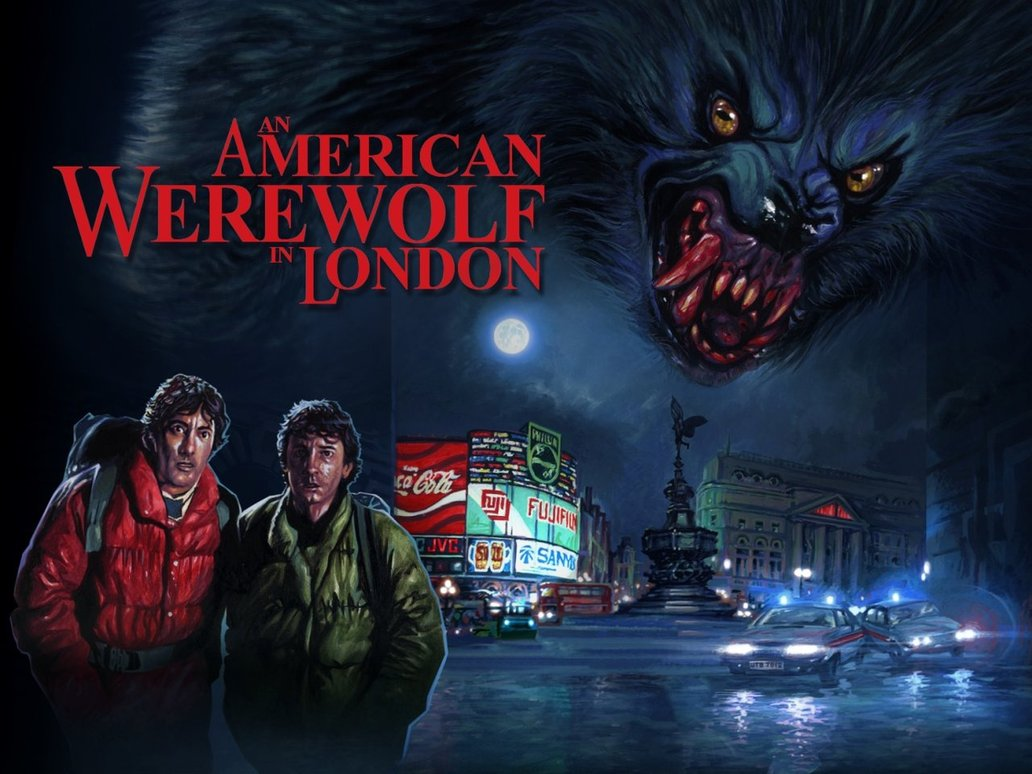 American Werewolf In London Wallpaper