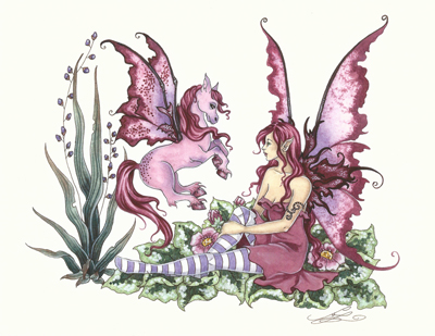 Amy Brown Fairy Wallpaper