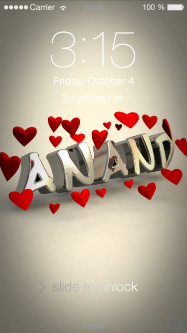 Download Anand Name 3d Wallpaper Gallery