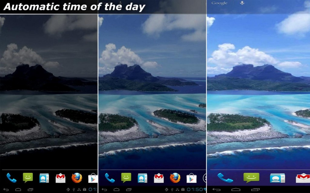 Android Custom Live Wallpaper