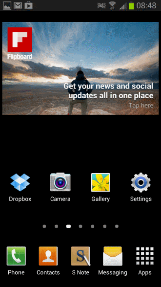 Android Menu Background Wallpaper